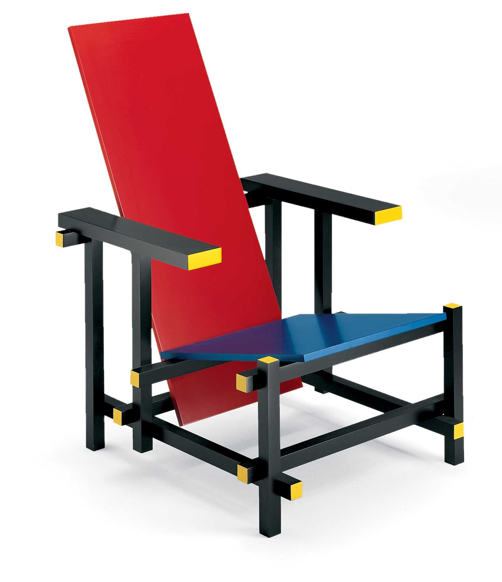 malik gallery collection gerrit thomas rietveld red and blue chair. Black Bedroom Furniture Sets. Home Design Ideas