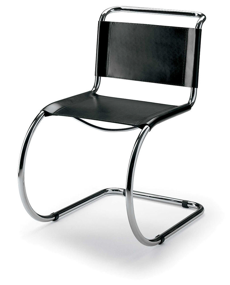 malik gallery collection  mies van der rohe cantilever chair - gallery of high resolution images