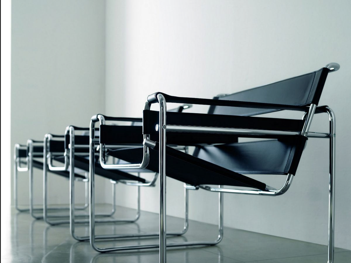 Malik gallery collection marcel breuer wassily chair for Chaise wassily