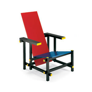 Malik Gallery Collection Gerrit Thomas Rietveld Red And