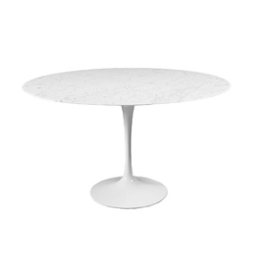 Round Tulip Dining Table - H 28