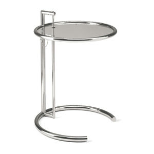Malik gallery collection eileen gray e1027 adjustable height table - Eileen gray table original ...